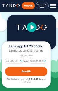Tando lån